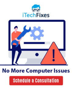 itechfixes computer repair banner